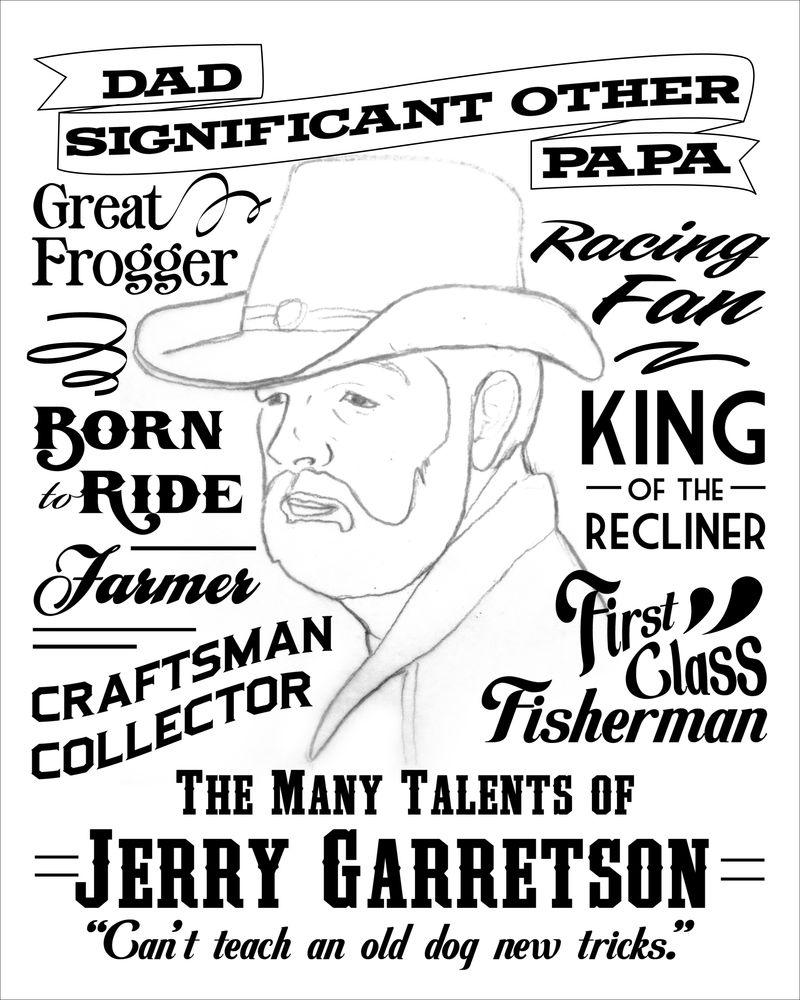 Jerry Garretson Portrait Sketch