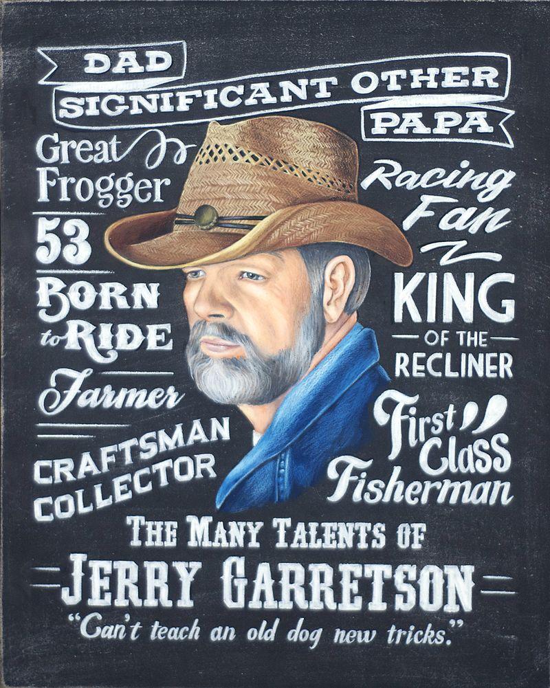 Chalkboard portrait crop