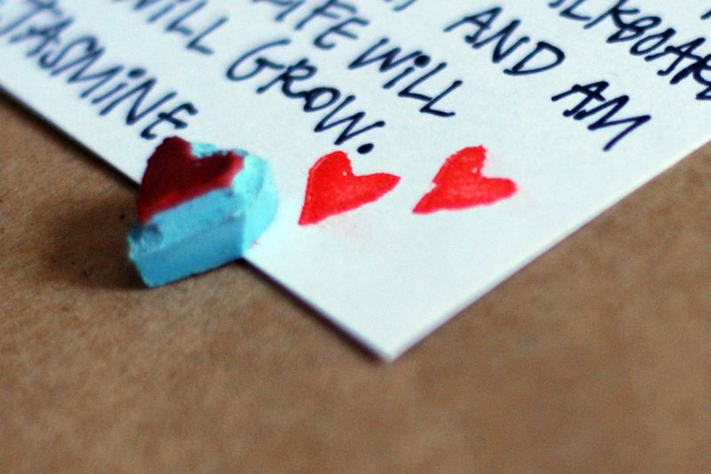 Little heart stamp