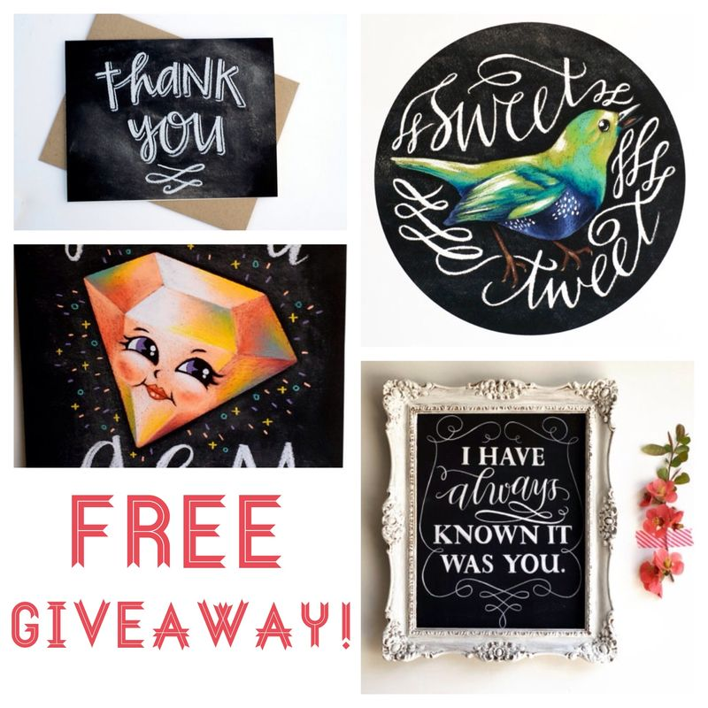 Jazzy Chalks Giveaway