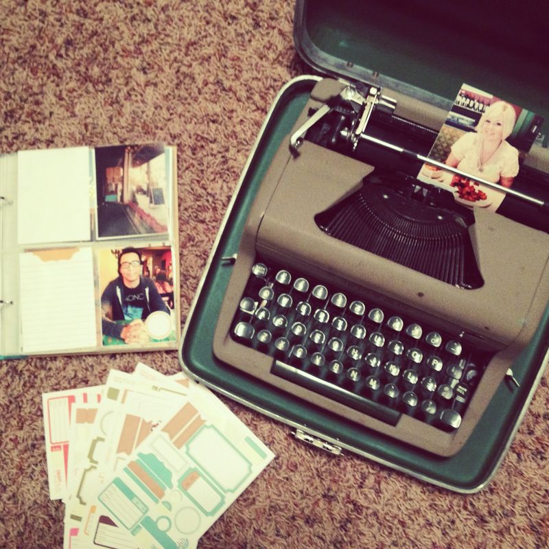 Typewriter Project Life