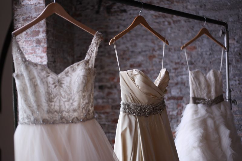 wedding dress perfect vintage cream detail loft pretty